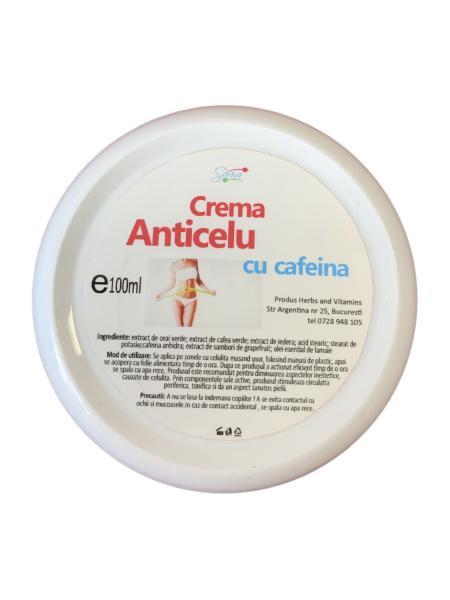 CREMA ANTI-CELU CU CAFEINA 100 ml