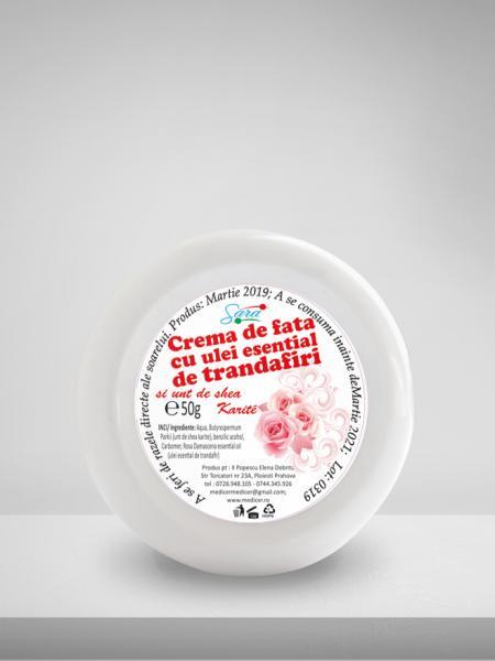CREMA DE FATA TRANDAFIR MEDICER 50 ML