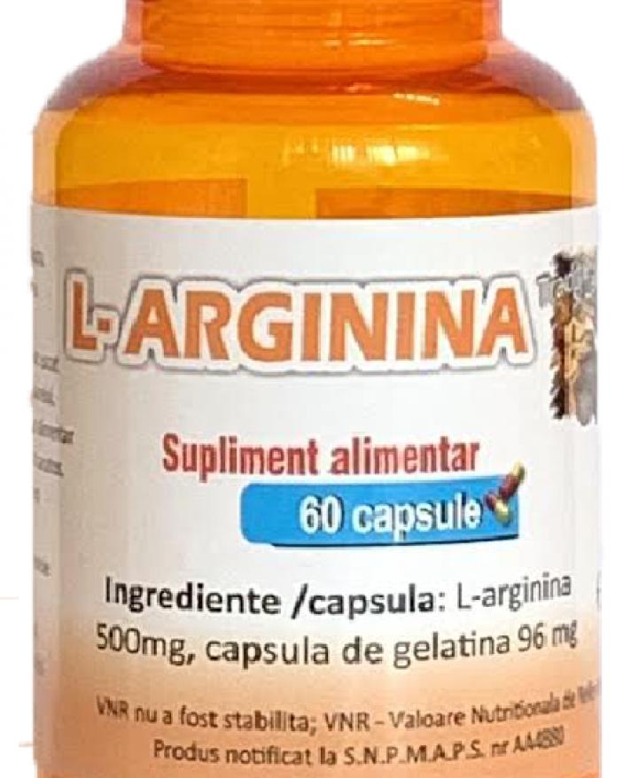 L-arginina 60 capsule
