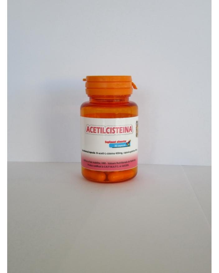 ACETILCISTEINA  30 CAPSULE