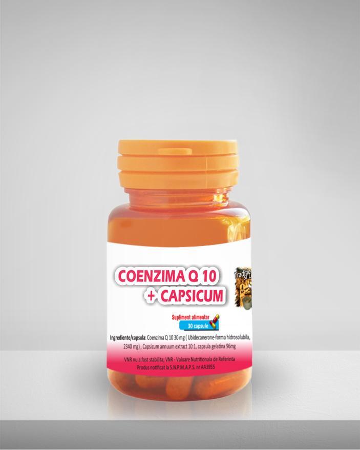 COENZIMA Q10+CAPSICUM UBIDECARENONE MEDICER 30 CAPSULE